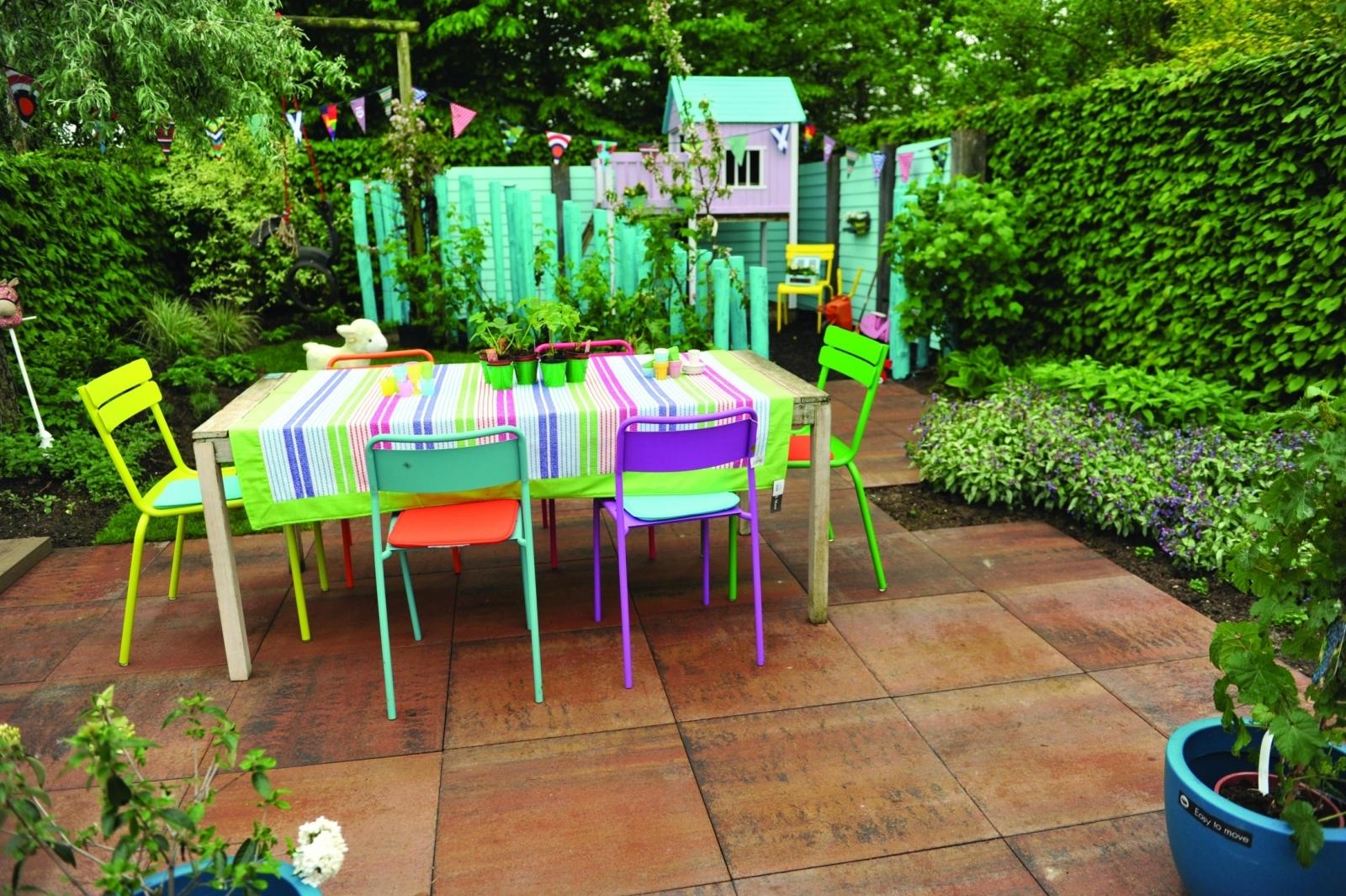 Bestrating voor een eco tuin