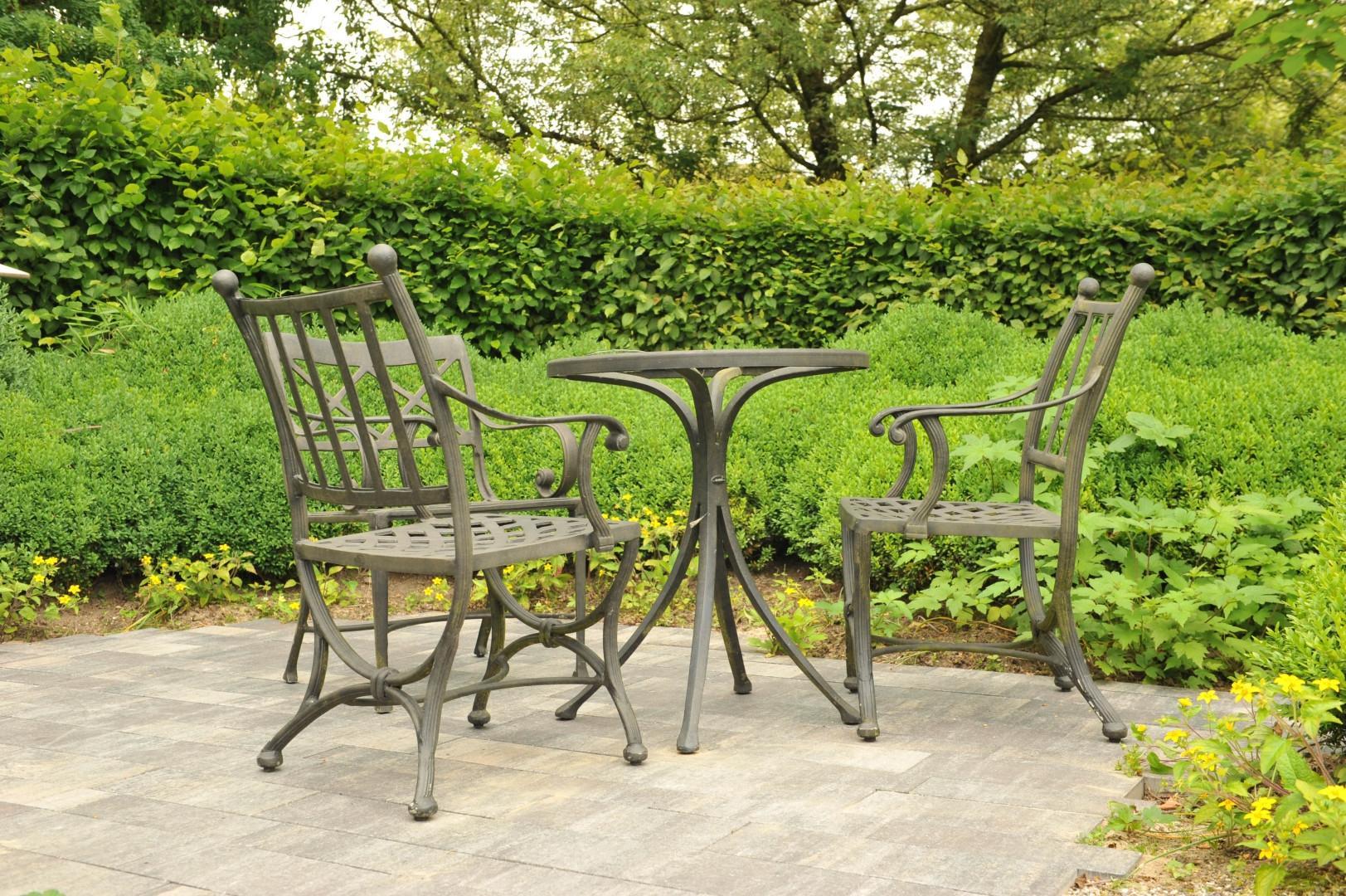 Bestrating voor een klassieke tuin