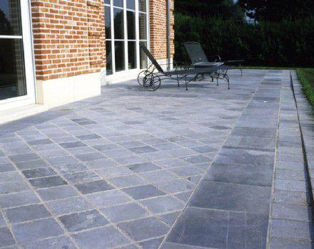 Natuursteen Tegels Tuin : Natuursteen tegels van garden stones basics gsb sierbestrating