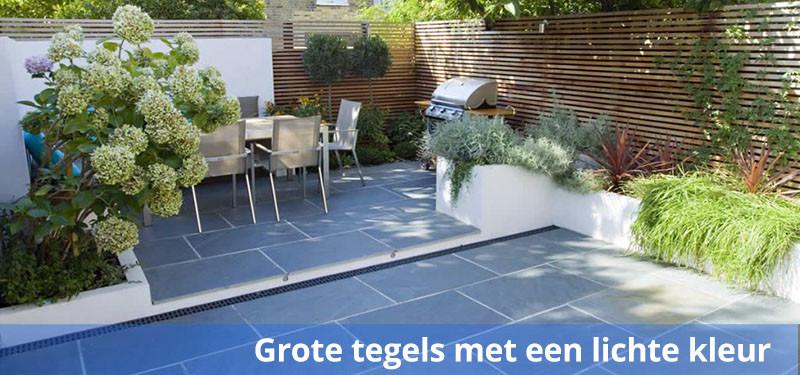 Tegels 60x60 Antraciet Tuin.Een Kleine Tuin 7 Tips En Ideeen Inrichten